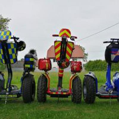Segway Fast And Furious Racing Team