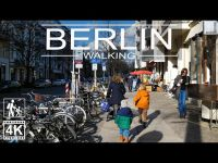 ⁴ᴷ⁶⁰ Walking in Germany ?? | Berlin-Mitte | From Hackescher Markt to Brunnenstrasse