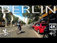 Berlin Center Virtual Cycling Kurfürstendamm ?? Germany | ASMR | 4K/60fps